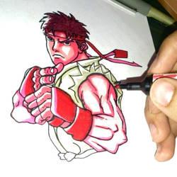 Ryu by HasssanArt