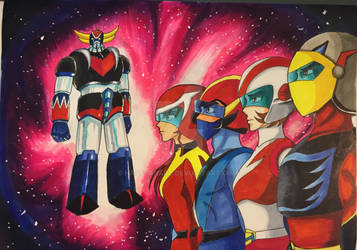 Grendizer or Goldorak