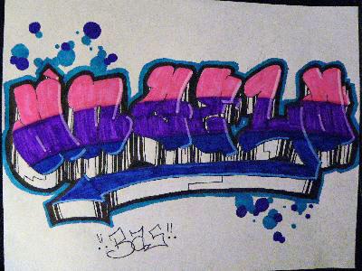 Graffiti Angela by SMITIE on DeviantArt