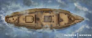 Galleon Battlemap
