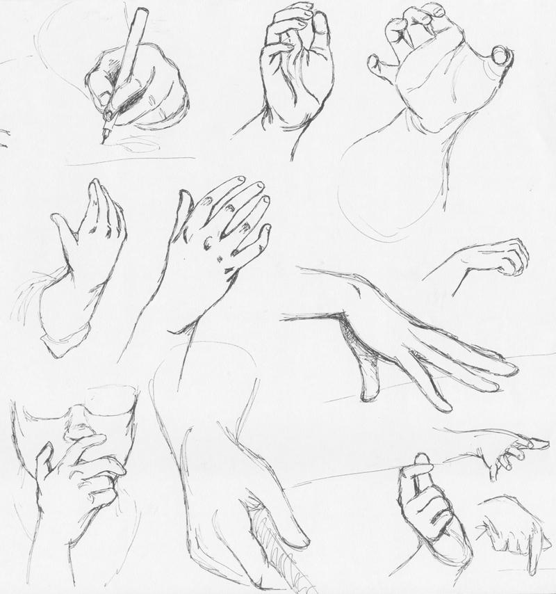 hand drawing: