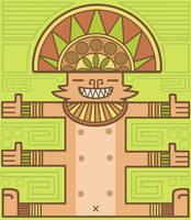 Aztec Kitty by creaturekebab