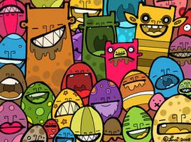 EGGS by creaturekebab