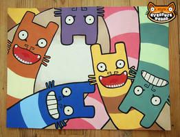 Mail Me Art 2 by creaturekebab