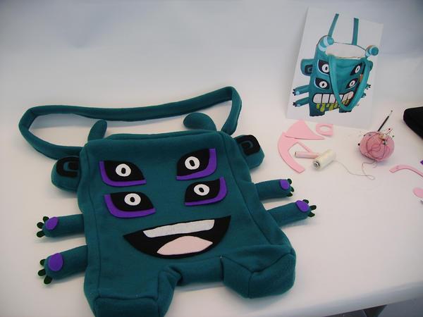 Stomper Bag the 3rd by creaturekebab