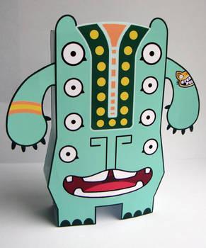 Big Mouth Boris Paper Toy