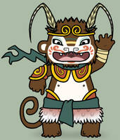 The Monkey Prince by creaturekebab