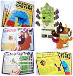 Paper Toy Monsters Book