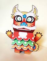Shu Maru Paper Toy by creaturekebab
