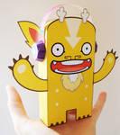 Gordy Paper Toy