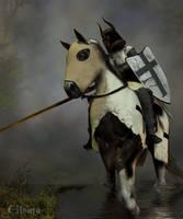The Teutonic Knight by Elsina