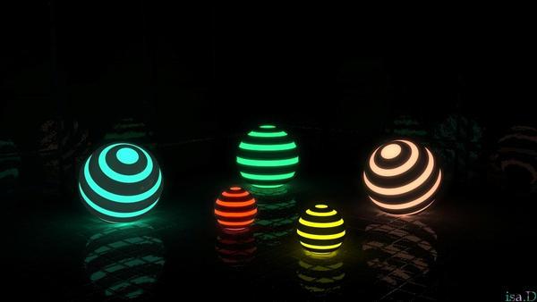 glowing lanterns by iytj