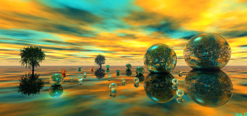 sunrise colours by iytj