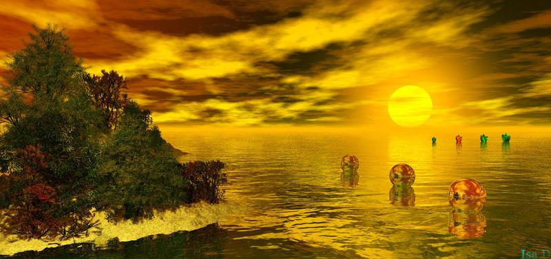Candy's Island by iytj