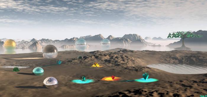 Scenery of Io