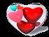Red Small Hearts-c4b by iytj