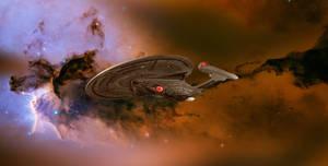 Enterprise E and Nebula