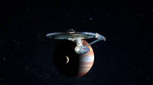 Starship refit launch