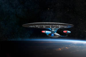 Enterprise D Dawn relaunch by Robby-Robert