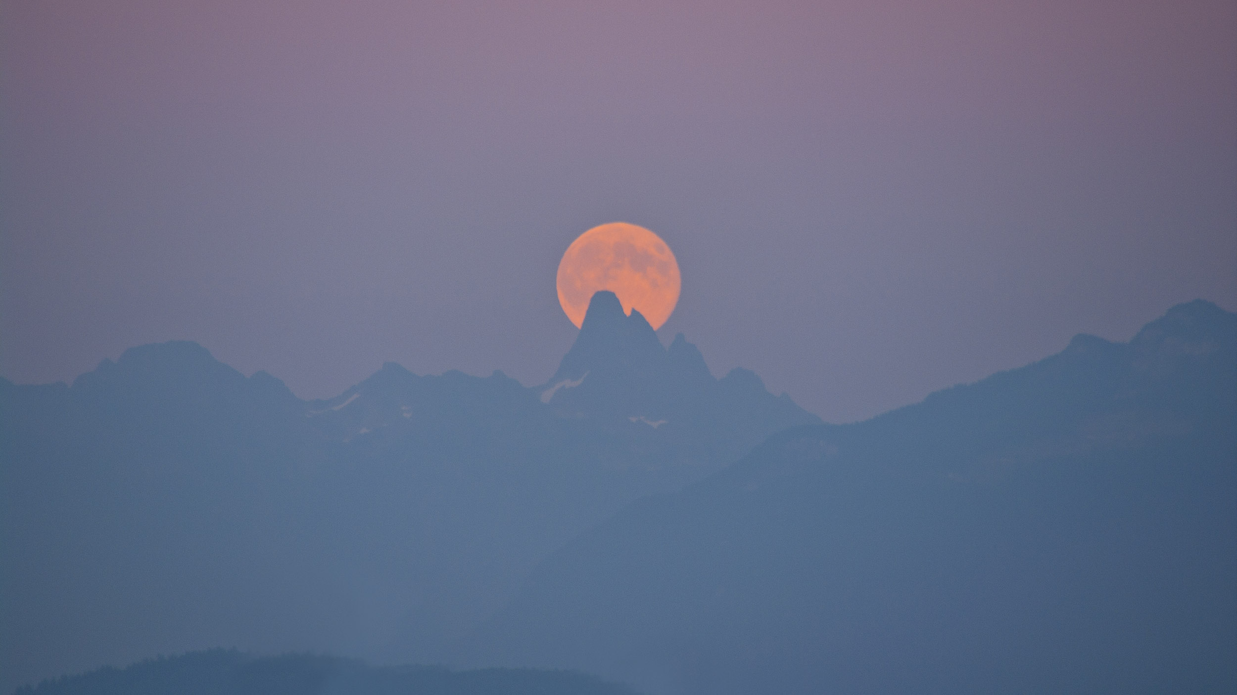 August Super Moon by Robby-Robert