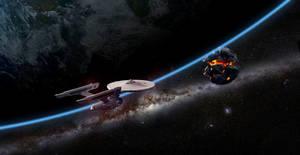 Enterprise enroute to aid Praxis
