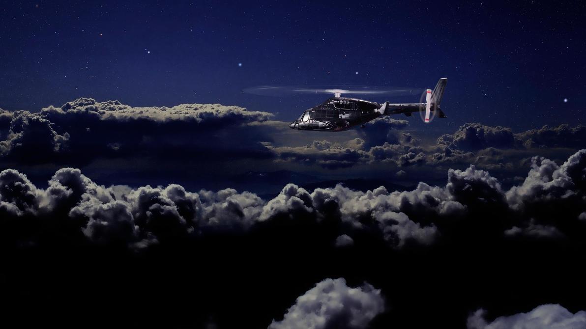 Moonlight hunting by Robby-Robert