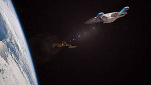 Eat hot photon torpedoes Klingons!