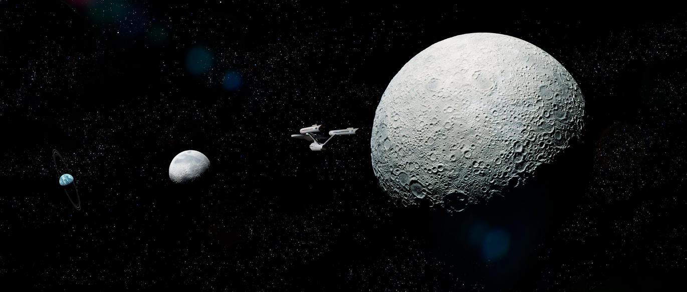 Star Trekkin' Across the universe.. by Robby-Robert