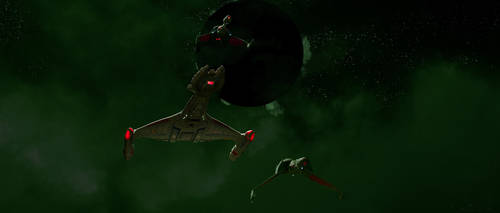 Klingon search and destroy by Robby-Robert