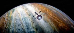 Reeve ascending from Jupiter