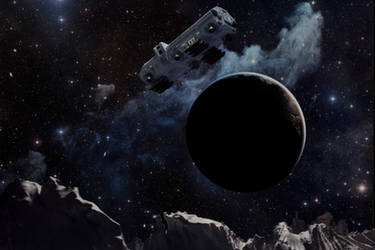 Moonbus 4 More cosmic man! by Robby-Robert