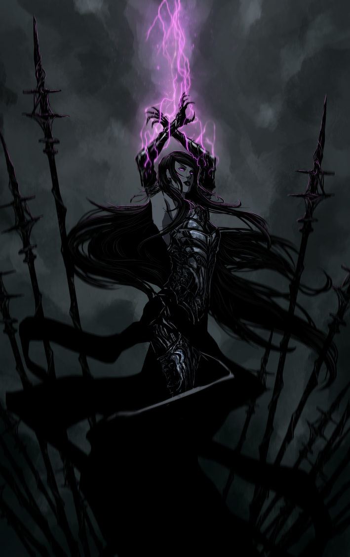 Elder Witch Morgan by Banished-shadow on DeviantArt