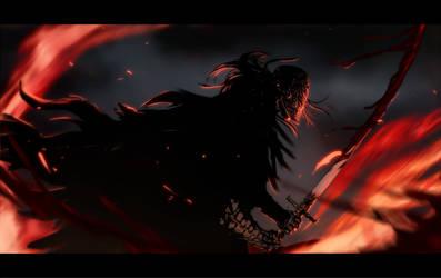 Bloodborne battle by Banished-shadow