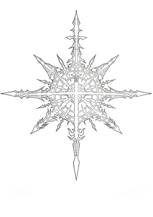 Chaos Symbol By Banished Shadow On Deviantart