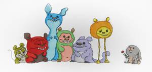 Monsters by Swebliss