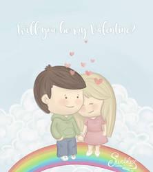 Swebliss Valentines Card