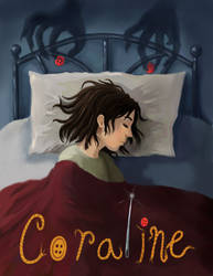 Coraline-Book Cover Assignment