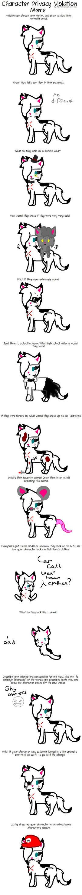 CharriePrivacyViolation Meme {Spotty} by WonderHooves