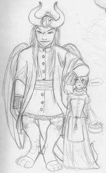 Dark Lord and the Seamstress