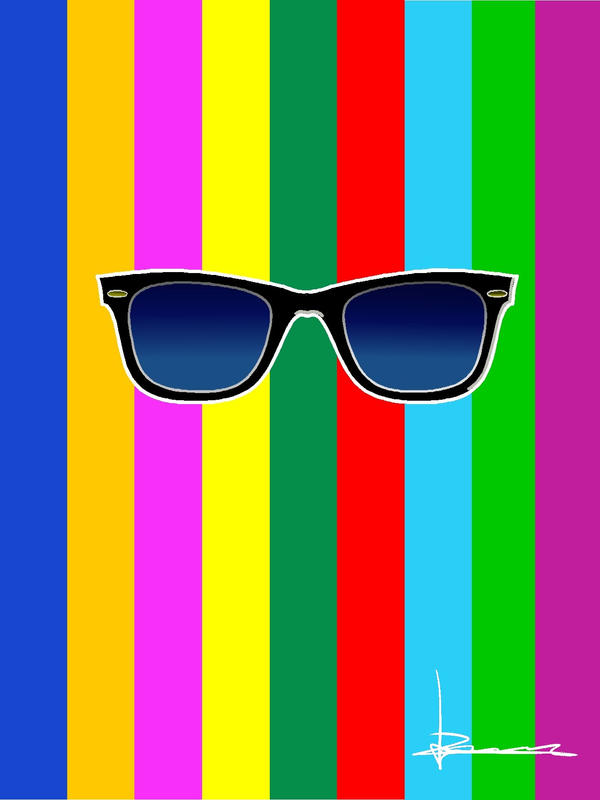 ray ban colors  Ray Ban Colors by Vichugisa on DeviantArt