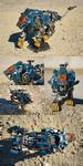 Zoids MPZ-01   Shield Liger Battle Damaged Ver. by MaiasaLiger