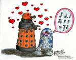 The Amourous Dalek tries again