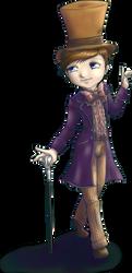 Kurt Wonka by ParallelPenguins