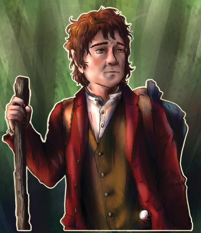 Bilbo  Baggins by ParallelPenguins