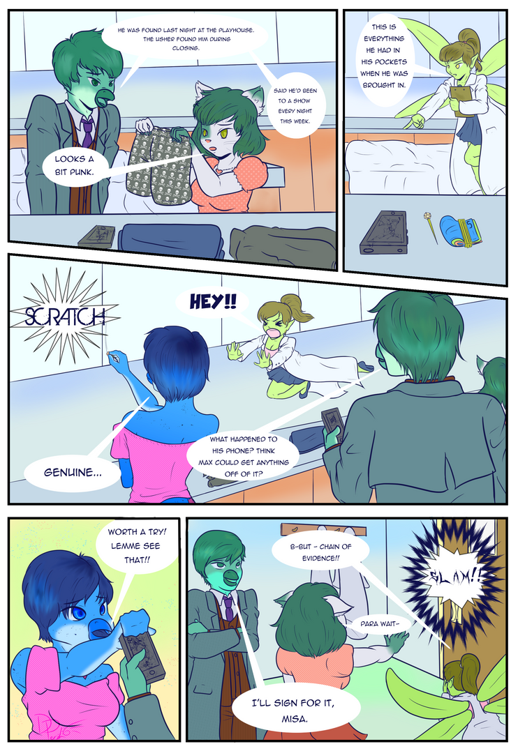 Penguin Investigations, CH1 PG3 by ParallelPenguins