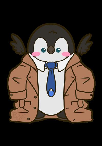 Cas Penguin by ParallelPenguins