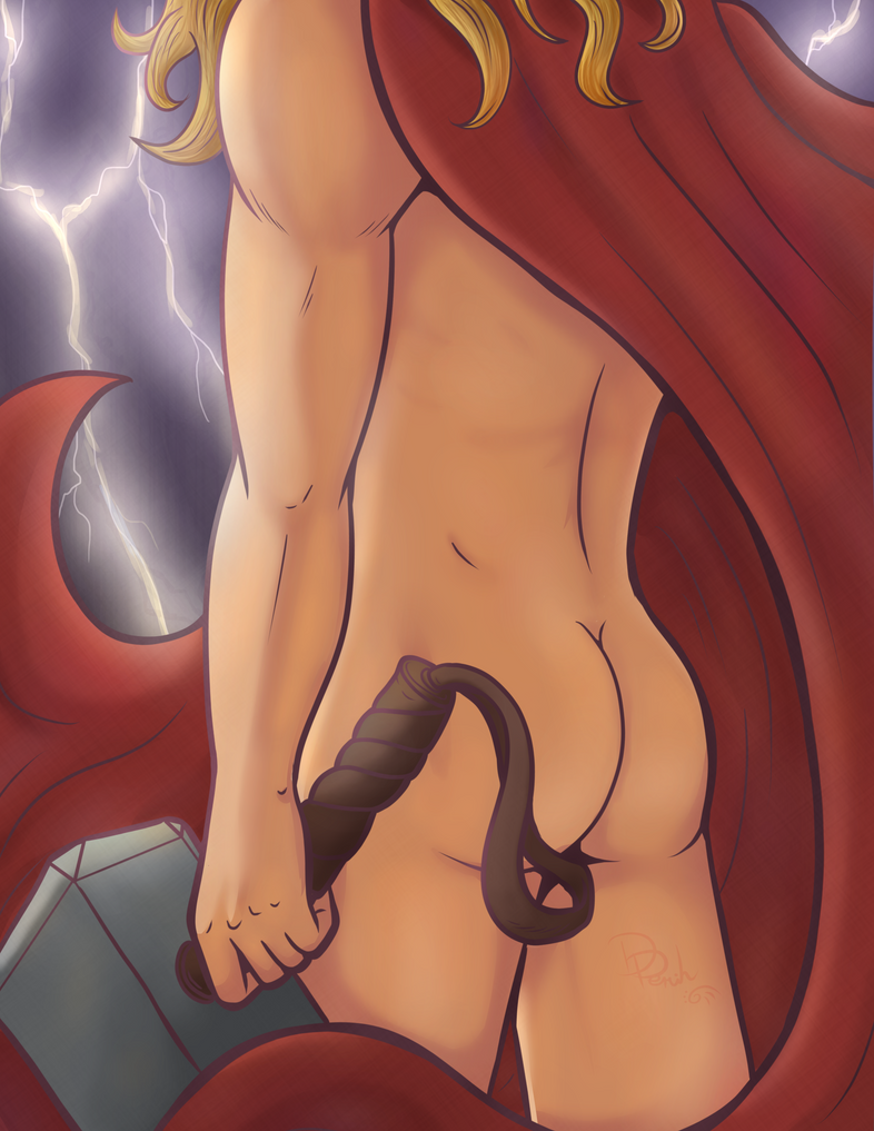 Thor Bum... by ParallelPenguins