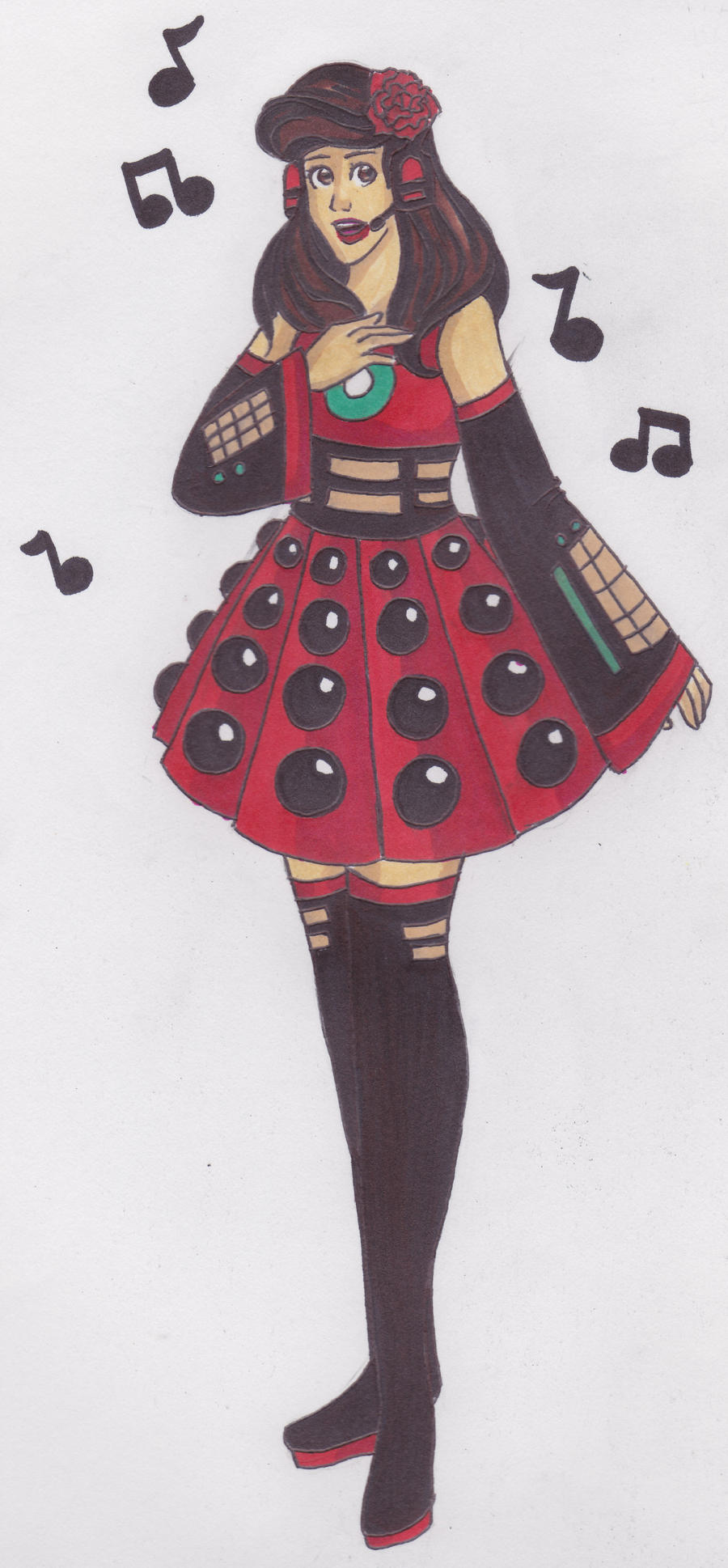 Vocaloid Oswin by OptimisticPessimist7