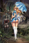 The Call of Wonderland #3 Bluerainbow Exclusive