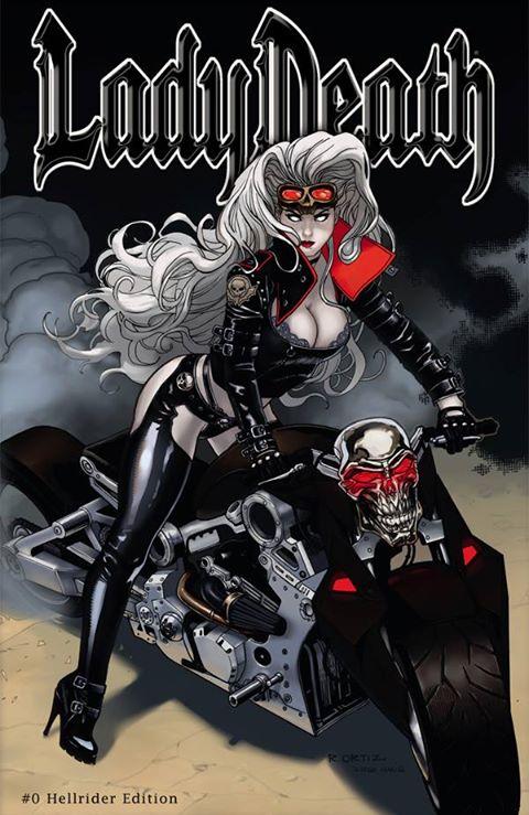 Lady Death: Hellrider Edition by Ric1975